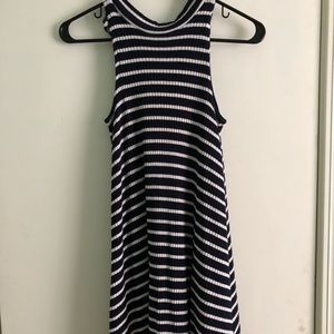 Simple stripped dress